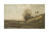Estacade Normande Giclee Print by Jean-Baptiste-Camille Corot