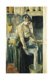 The Laundress; La Blanchisseuse Giclee Print by Maximilien Luce