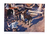 Death of Morgan the Bush Ranger Giclee Print by George Washington Lambert