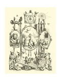 National Nursery Rhymes, Frontispiece Giclee Print by Ernest Henry Griset