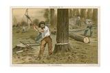 The Lumberjack Giclee Print