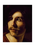 Portrait of Flutist Giclee Print by Nicolas Tournier
