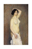 Nude Woman Standing Giclee Print by Henri Martin