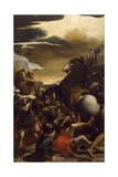 The Conversion of St Paul Giclee Print by Lodovico Carracci