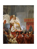 Pope Pius VIII Giclee Print by Emile Jean Horace Vernet