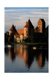 View of Trakai Island Castle Giclee Print