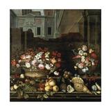 Allegorical Still Life Giclee Print by Balthasar van der Ast