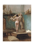 The End of the Sitting, C.1896 Giclee Print by Jean Leon Gerome