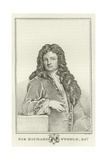 Sir Richard Steele, Knight Giclee Print by Sir Godfrey Kneller