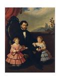 Family Portrait Giclee Print by Baldassare Verazzi