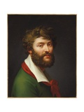 Self Portrait Giclee Print by Jean-Baptiste Regnault