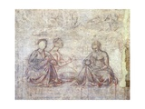 Stories of Jacob and Esau Giclee Print by Benozzo Gozzoli