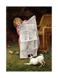 Behind the Times Giclee Print by William Henry Gore