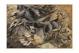 Charge Lancers - Cavalry Charge Giclee Print by Umberto Boccioni