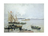 Chioggia Giclee Print by Mose Bianchi