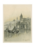 Genoa, Birthplace of Christopher Columbus Giclee Print by Andrew Melrose