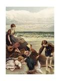 Summer Joys Giclee Print by Myles Birket Foster