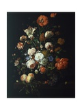 Bouquet of Flowers Giclee Print by Rachel Ruysch