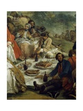 Resting During Hunt Giclee Print by Carle van Loo