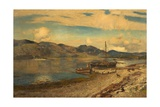 Loch Linnhe at Port Appin, Argyllshire, 1884 Giclee Print by Sir David Murray