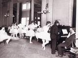 Ballet Class Photographic Print