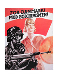 Waffen SS Recruitment Poster Published in Denmark Giclee Print