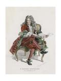 Boileau Giclee Print by Emile Antoine Bayard