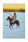 Indian Returning from the Hunt, 1912 Giclee Print by Henry Francois Farny