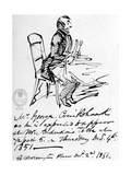 Drawing, 19th Century Giclee Print by George Cruikshank