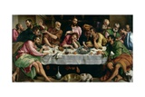 The Last Supper, 1542 Giclee Print by Jacopo Bassano
