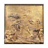 Creation of Adam and Eve, 1425 - 1452 Giclee Print by Lorenzo Ghiberti