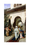 Leaving the Alhambra, 1887 Giclee Print by Harry Humphrey Moore