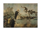 Miracle of Dominican Saint Giclee Print by Francesco Guardi