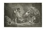 La Conquete Du Feu Giclee Print by Emile Antoine Bayard