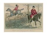 Romford Disturbs the Dignity of His Huntsman Giclee Print by John Leech