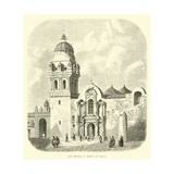 The Church of Mercy at Cuzco Giclee Print by Édouard Riou