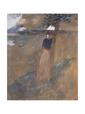 L'Abandonnee, C.1884 Giclee Print by Jean Louis Forain