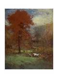 The Mill Pond, 1889 Giclee Print by George Inness