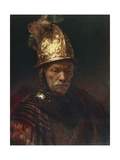 The Man with the Golden Helmet, 1650-55 Reproduction procédé giclée