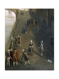 Ponte Santa Trinita' in Florence Giclee Print by Thomas Patch