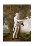 Portrait of John Milnes, 12th Duke of St. Albans Giclee Print by Joseph Wright of Derby