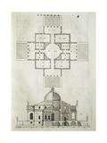 Villa La Rotunda, 1570 Giclee Print by Andrea Palladio