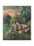 Saint-Briac Landscape, 1886 Giclee Print by Emile Bernard