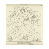 Giants and Titans Giclee Print by John Flaxman