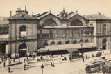 Gare Montparnasse, Paris, 1905 Photographic Print