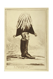 A Wellington Boot, or the Head of the Army, 1827 Giclee Print by William Heath
