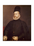 Philip II of Spain Giclee Print by Alonso Sanchez Coello