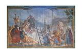 Martyrdom of Saints Giclée-tryk af Giandomenico Tiepolo