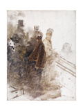 Studio for Racing II Giclee Print by Giuseppe De Nittis