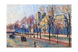 View from the Quay Montebello, C.1897 Giclee Print by Maximilien Luce